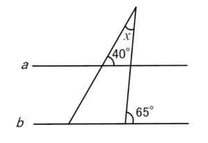 角度練習問題1