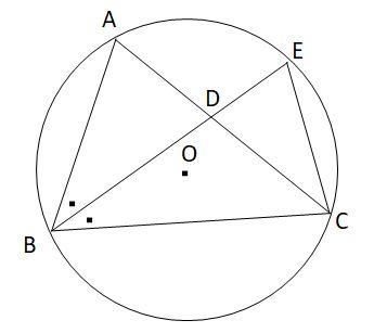 共通する弧の円周角と相似2