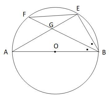 共通する弧の円周角と相似3