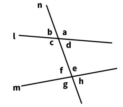 対頂角・同位角・錯角問題・説明