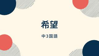 中3国語希望サムネイル
