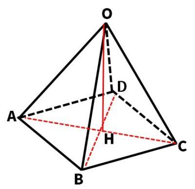 正四角錐の高さと体積解説